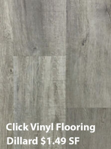 Vinyl Flooring Blowout Sale