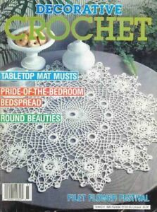 Vintage Crochet DOILY Books/Magazines WANTED