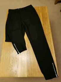 Ladies In Wear Black Trousers Size UK 10