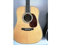 Martin d 42 reamagined. New...