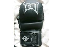 New Tapout Elite Series Grappling Gloves MMA UFC Martial Arts Sparring Training