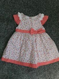 Baby girl dress 3-6 months