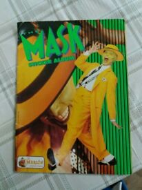 Collectible sticker Mask book