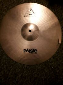"Paiste 16"" crash cymbal"