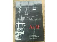 As if by Blake Morrison for only £3