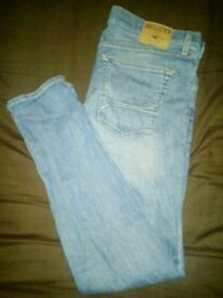Two 34×32 Hollister jeans for sale only worn once