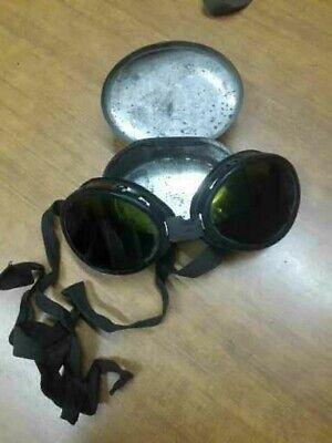 Occhiali antiriflesso da ghiacciaio 1^ guerra mondiale, marcati.
