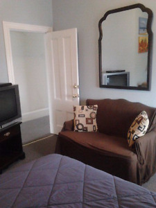 Clean, Quiet, Central, Furnished Room for Rent - July 1