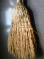 Corn broom   smaller   /fireplace  type/Use as craft broom