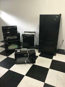 Black Maytag appliances