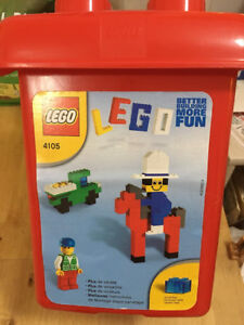 Lego - bins for young builders