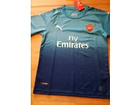 Arsenal away football shirt 2017-18 season New with tags
