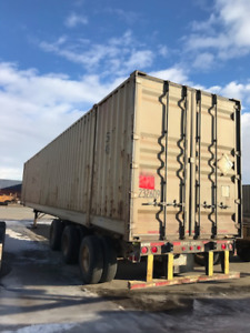 53' HC steel shipping container