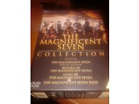 THE MAGNIFICENT SEVEN CLASSIC COLLECTION DVD SET, ALL 4.