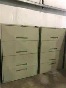 Global 4 Drawer Lateral Filing Cabinets - $279.00