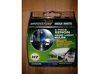 Brand new H7 xenon headlight bulbs