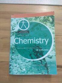 Pearson IB Chemistry book