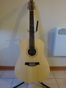 Seagull 12 String Acoustic Guitar (Walnut Series)