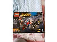 Marvel and dc comic lego