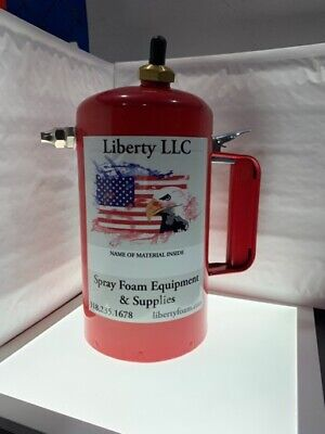 Liberty Spot Sprayer Pressurized Spray Can, Steel, Red, 1 qt/32oz