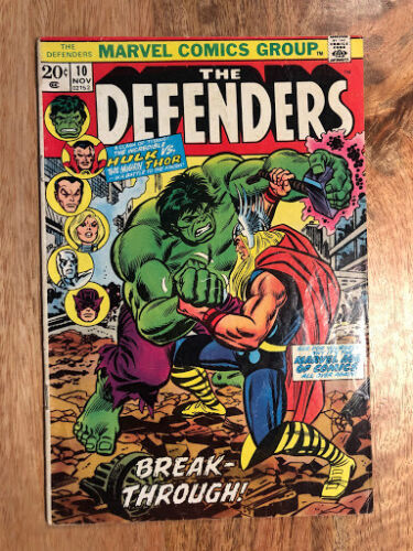 Defenders 10 Hulk vs Thor Comic Book