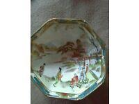 Noritake 3 footed bowl