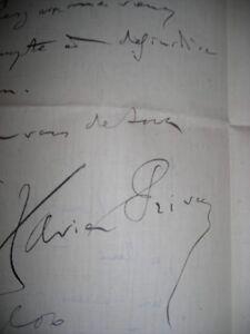 Lot de 25 lettres anciennes d'auteurs célèbres