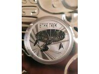 Star trek perth mint silver 1oz coin