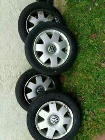 Genuine vw polo wheels