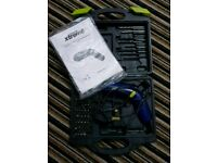 Challenge extreme 3.6v cordless screwdriver with accessories in box