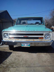 WANTED PARTS FOR MY 68 CHEVY PICK UP