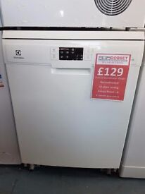 Electrolux Dishwasher 12 Place Setting 60cm Weymouth Dorset Reconditioned Delivery available
