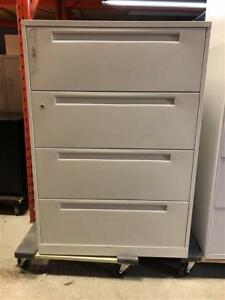 White 4 Drawer Lateral Filing Cabinet - $279