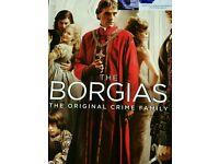The Borgias dvds