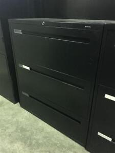 Global Boulevard 3 Drawer Lateral Files - $250