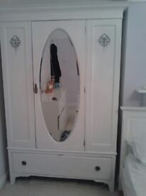 wardrobe, drawers, and a dressing table, to sell as a set or individually