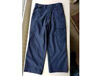 Boys Beaver uniform trousers size 9/10yrs