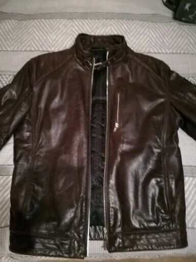 b5d064cfd Mens Strellson leather biker jacket | in North Shields, Tyne and Wear |  Gumtree