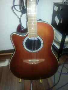 Left handed Ovation - acoustic/electic guitar