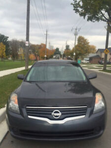 NISSAN ALTIMA 2007 2.5 JUST 131000  KM!WITH SEFTAY& E TEST