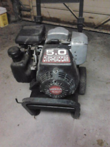 For Sale 5 HP Honda engine for parts With 2 wheel cart