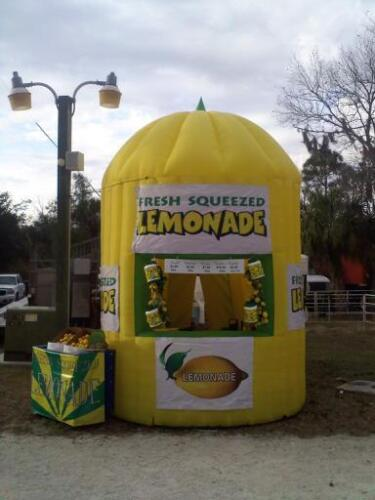13ft.Tall Commercial Inflatable Lemonade Concession Stand Event Drink Tent Booth