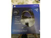 PS4 / PC razer thresher ultimate. Wireless gaming headset