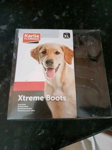Katie Flamingo Xtreme Dog Boots XL