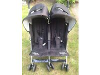 Double buggy pushchair for sale in excellent condition