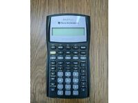Finance calculator Texas Instruments BA II Plus CFA approved