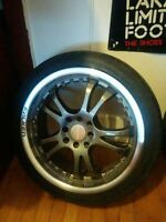 17 inch low-pro falken rims 4 bolt 500 obo