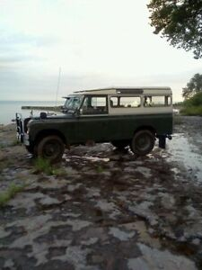 Wanted: Any Series 1,2,3 Land Rovers Please Contact me.