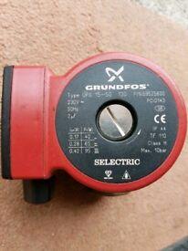 Grundfos 15-50 pump