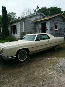 1972 Lincoln Towncoupe
